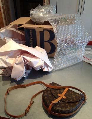 Le sac sorti de son emballage