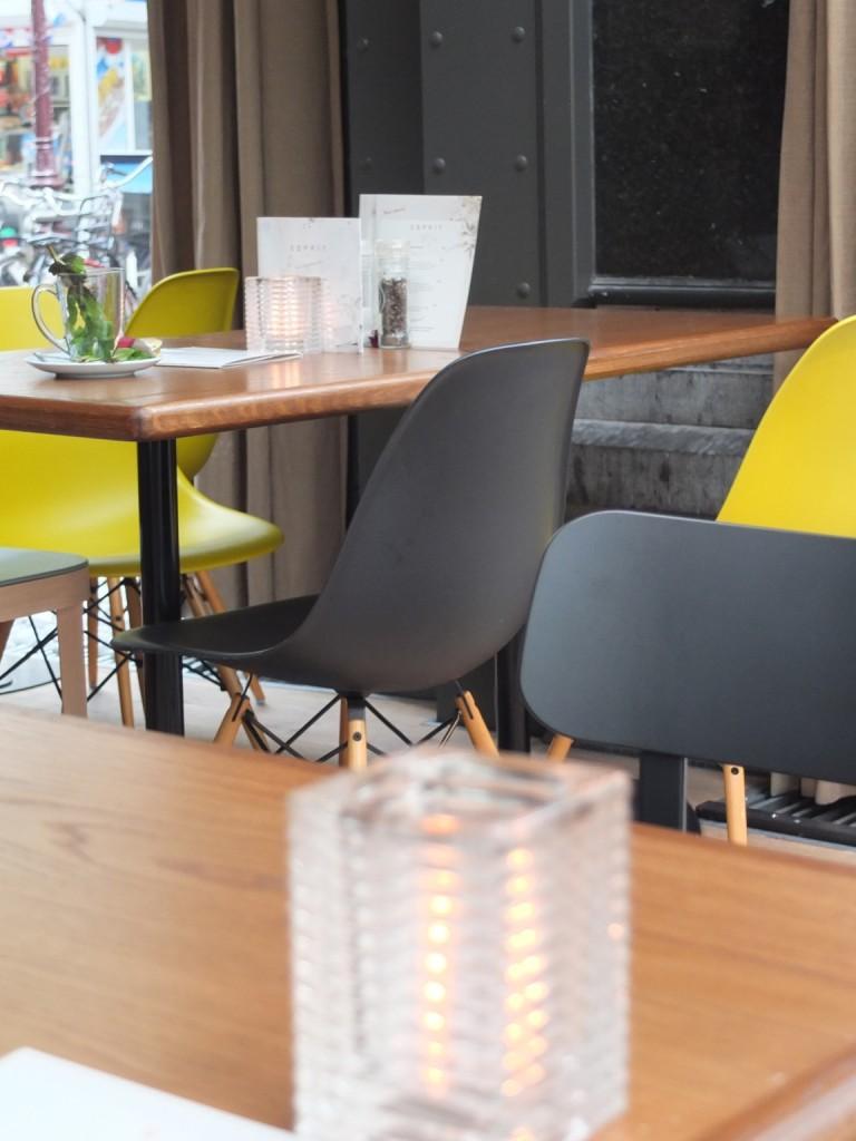 Lunch au Esprit Café – Amsterdam