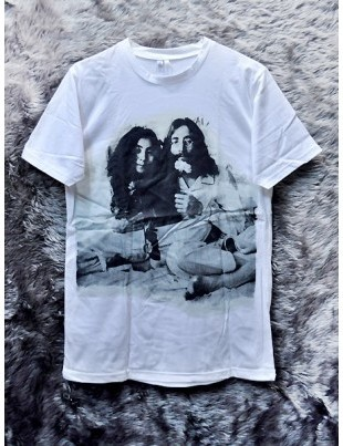 john-lennon-yoko-ono-the-beatles-imagine-give-peace-a-chance-bed-in-for-peace-white-unisex-medium-t-shit