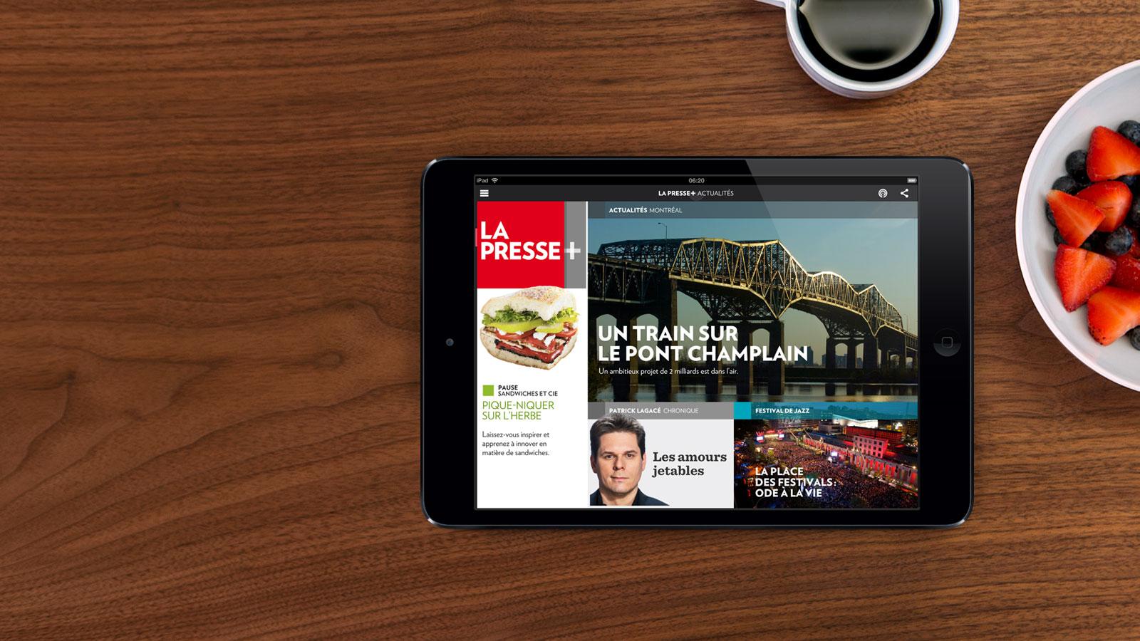 Ma collabo avec La Presse+