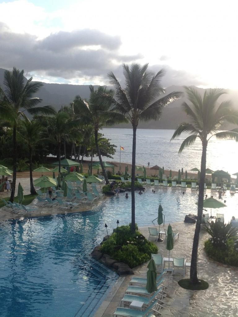 Bonjour de Hawaii :)