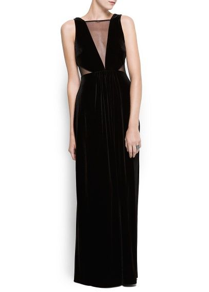 Une robe longue pour le party de bureau.