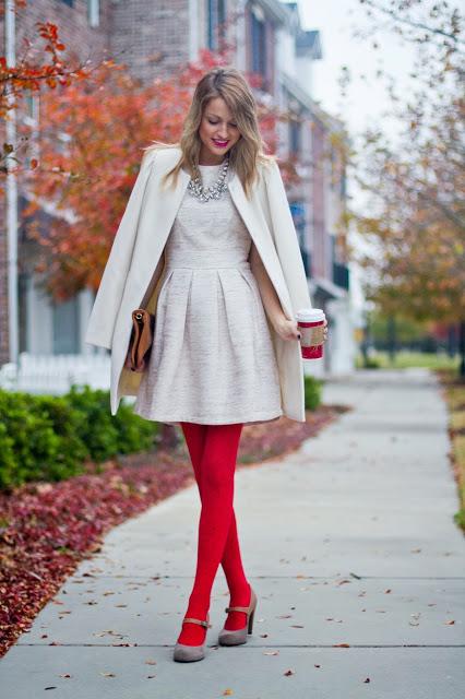 Idées de tenues pour le temps des Fêtes – les couleurs classiques