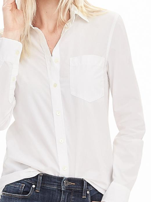 chemise blanche Banana Republic