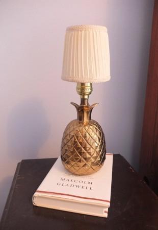mon chum a hérité de la lampe ananas