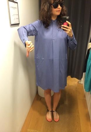 robe-blouse trop grande 39,90$