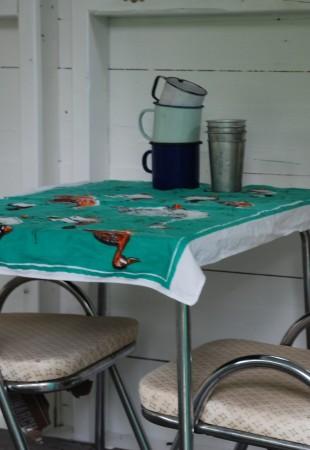 la table est mise pour le petit dej