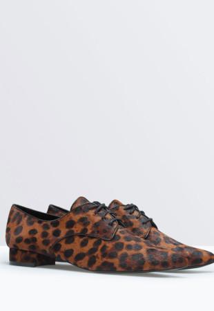 chaussure léopard zara
