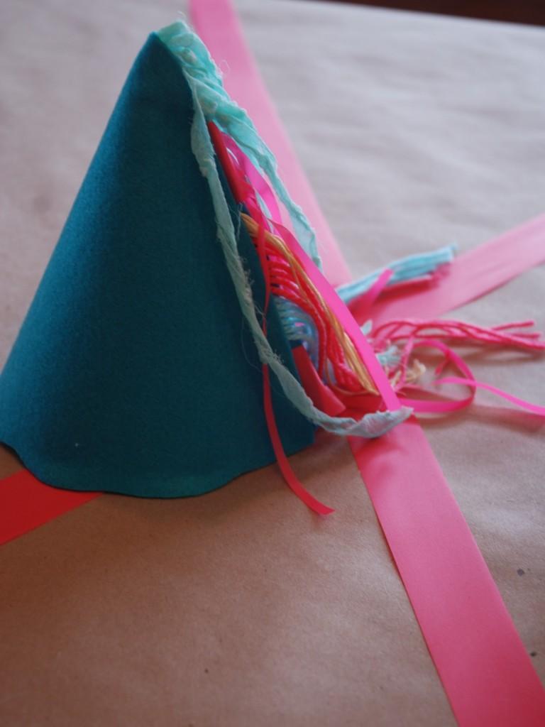 DIY chapeau de fête.