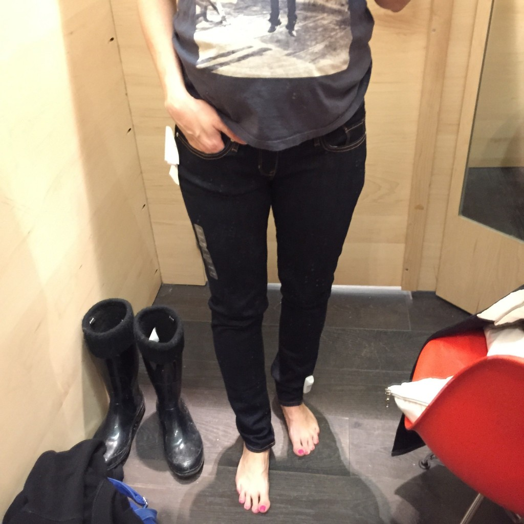 skinny jeans gap maternité