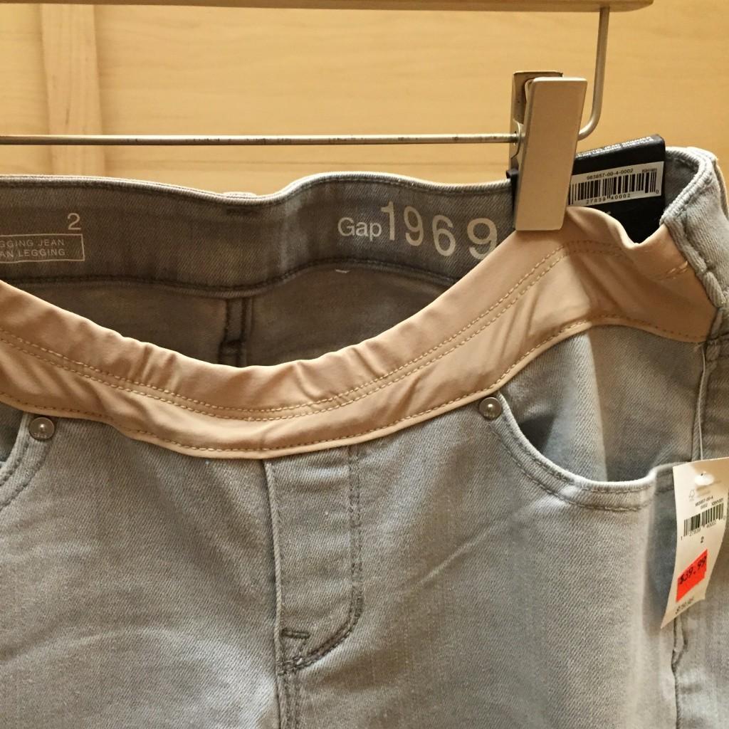 jeans gap maternité