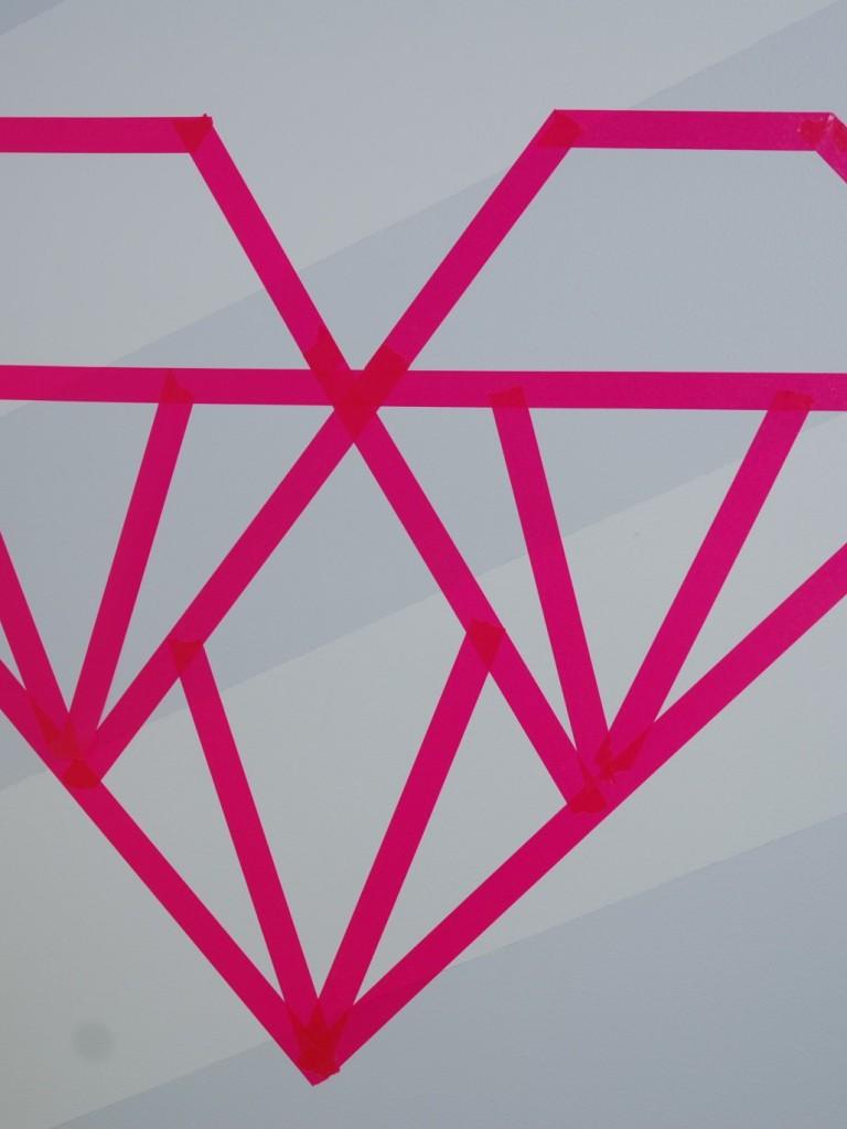 DIY Coeur washi tape pour la St-Valentin