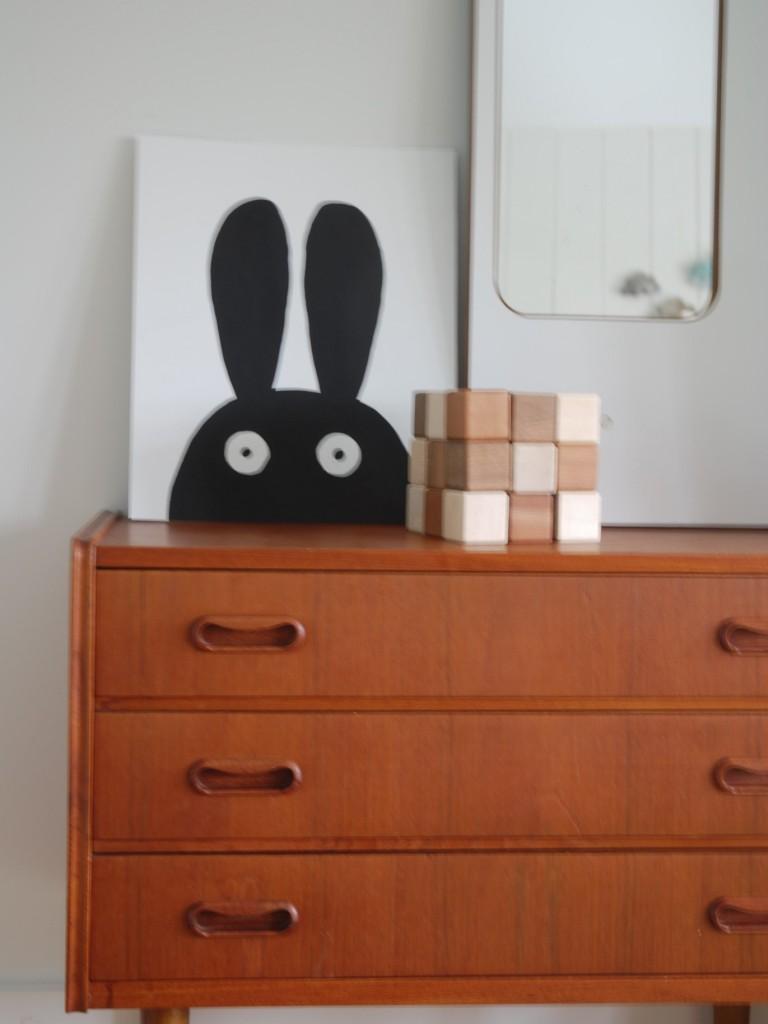 DIY Lapin de Pâques minimaliste