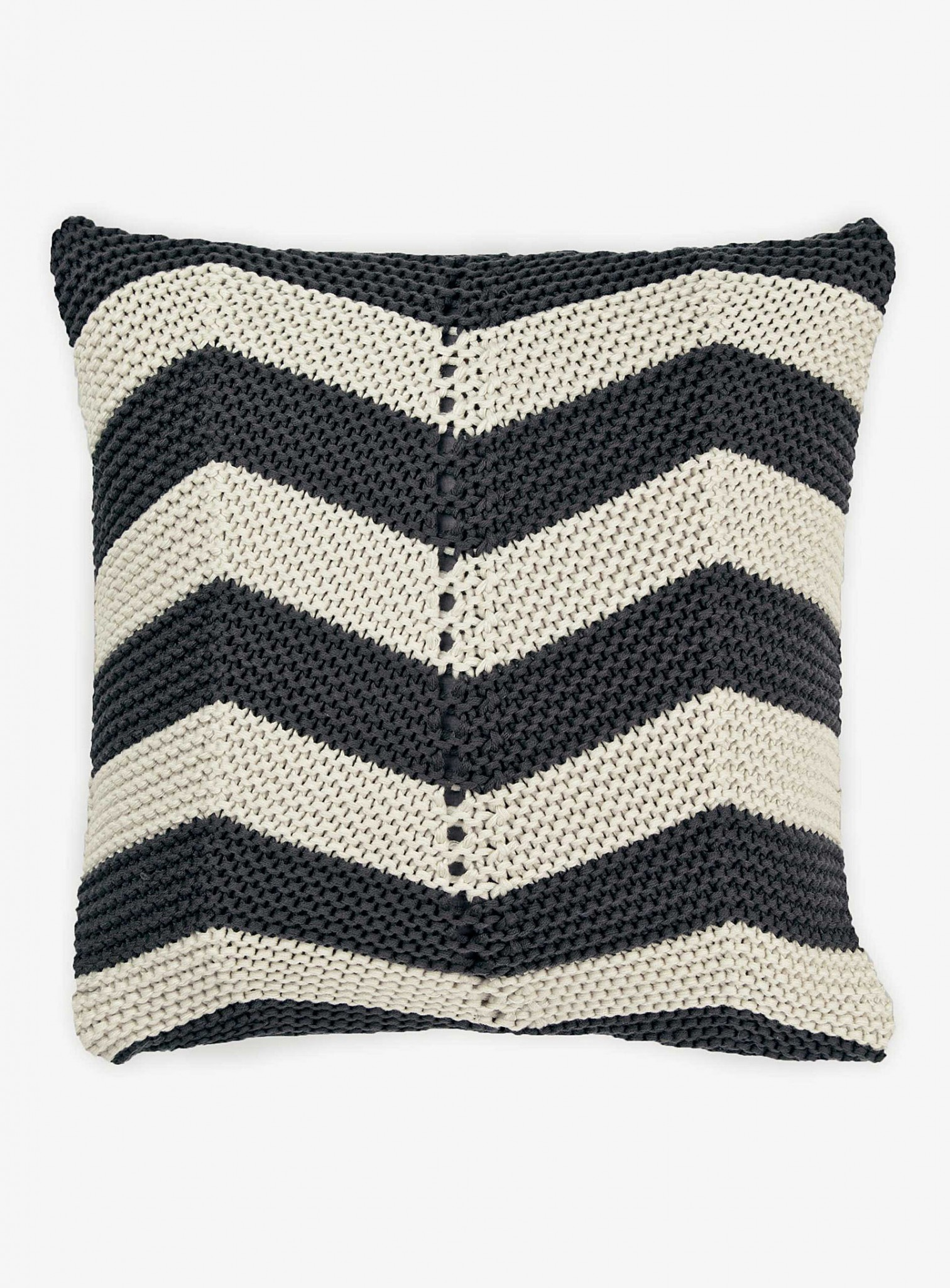 Tricot chevrons_coussin
