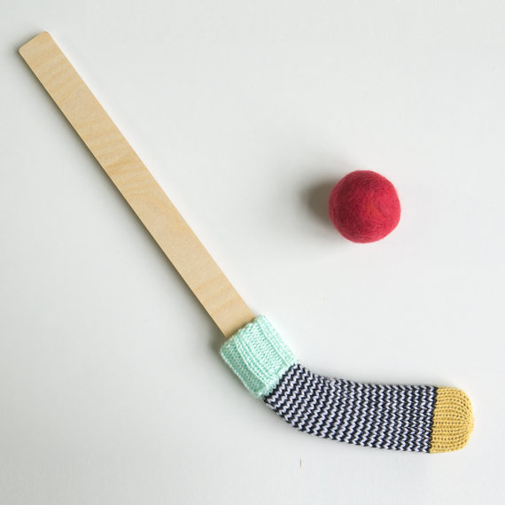 bâton de hockey des enfantillages