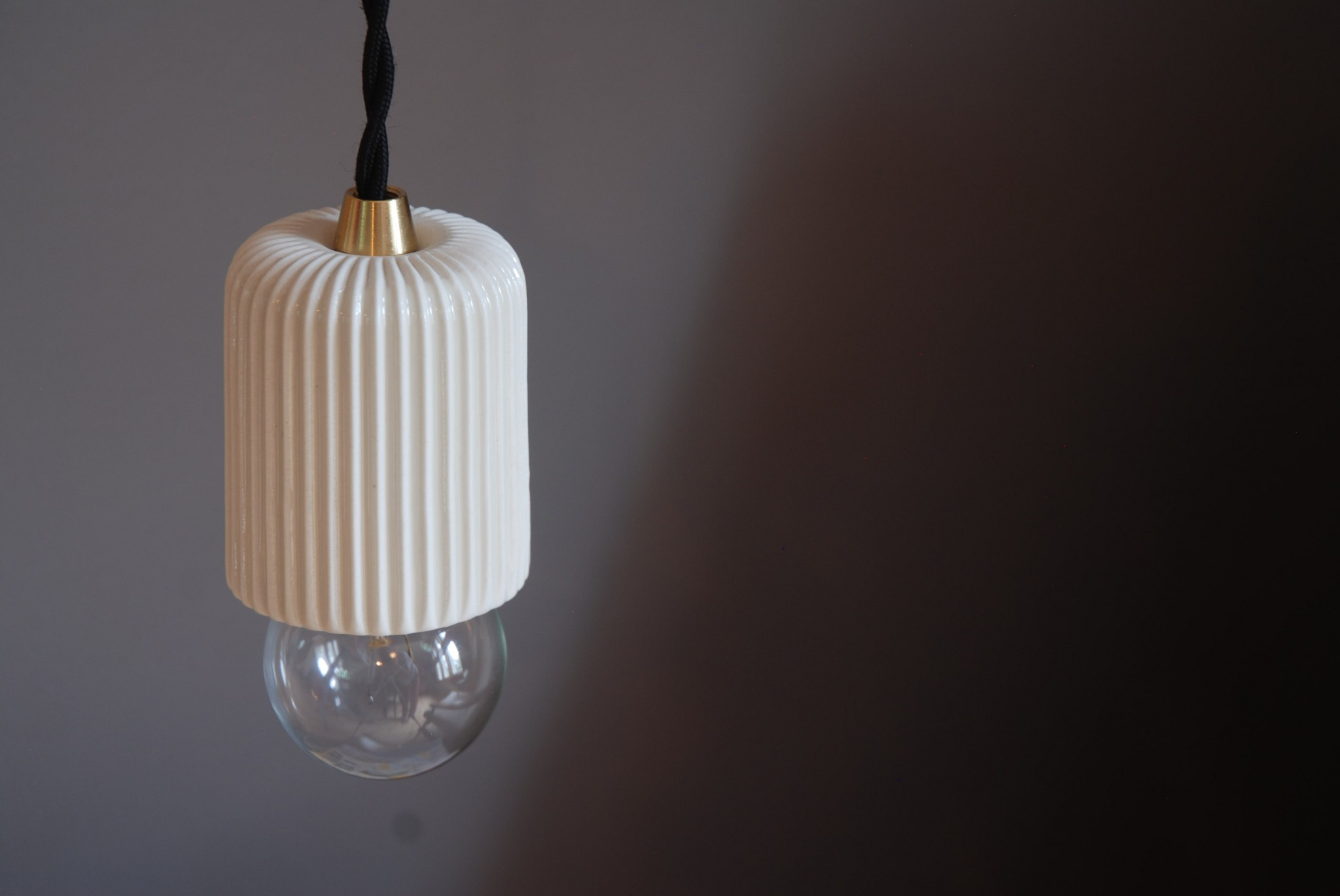 Art & Manufacture Pleated pendant light
