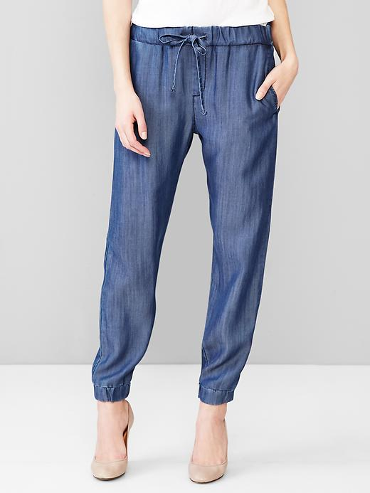 denim tencel gap
