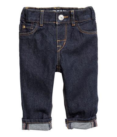 h&m jeans en coton bio pour bébé