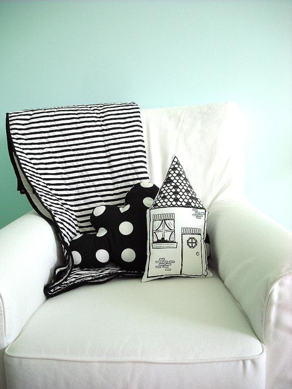 Not Sew Strange Plush pillows