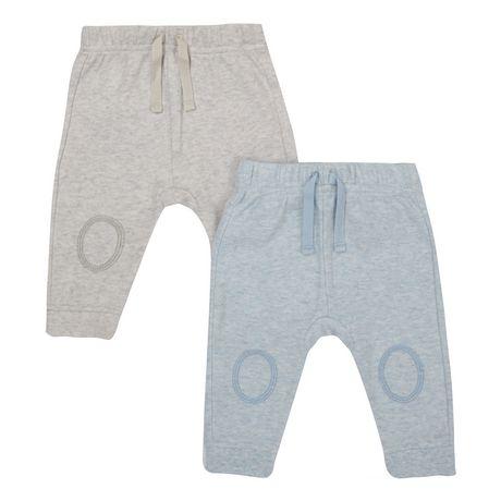 Paquet de 2 pantalons de coton 7,97$