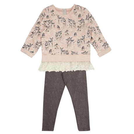 Ensemble pull et legging 2T-4T
