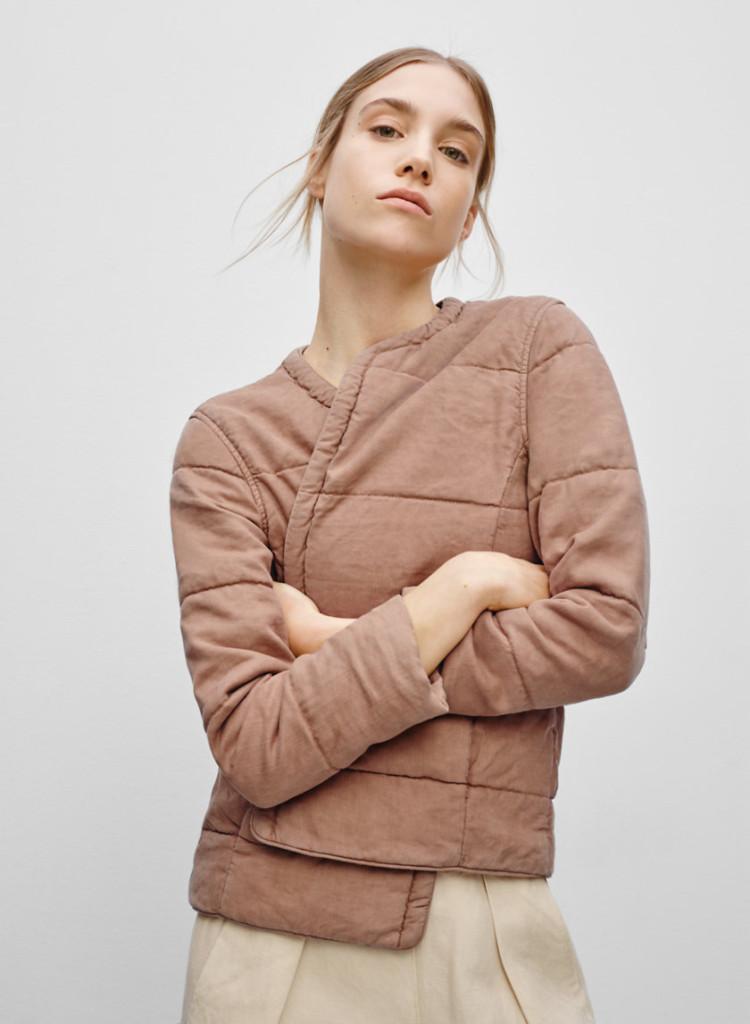veste jonquille 70$ (au lieu de 165$)