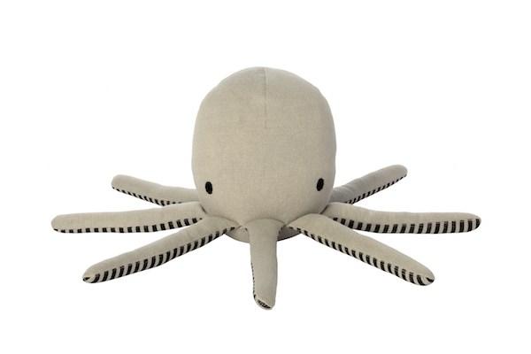 Octopus-Throw-Pillow