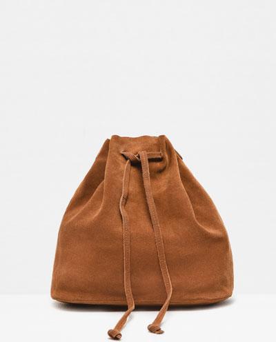 Sac Zara en suède 49,90$