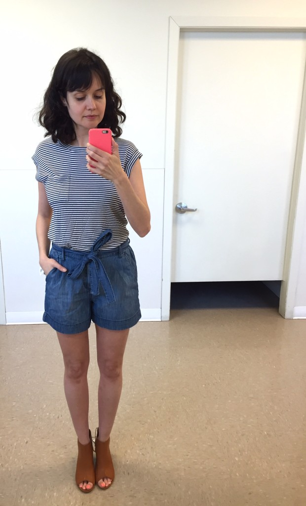 même t-shirt 16$ - short denim 29$