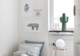 Cactus, baleine murs blancs
