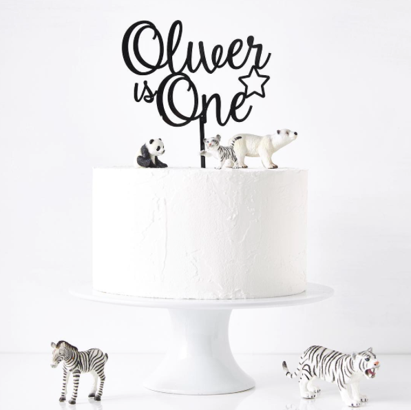 Cake topper par Sophia Victoria Joy Ltd