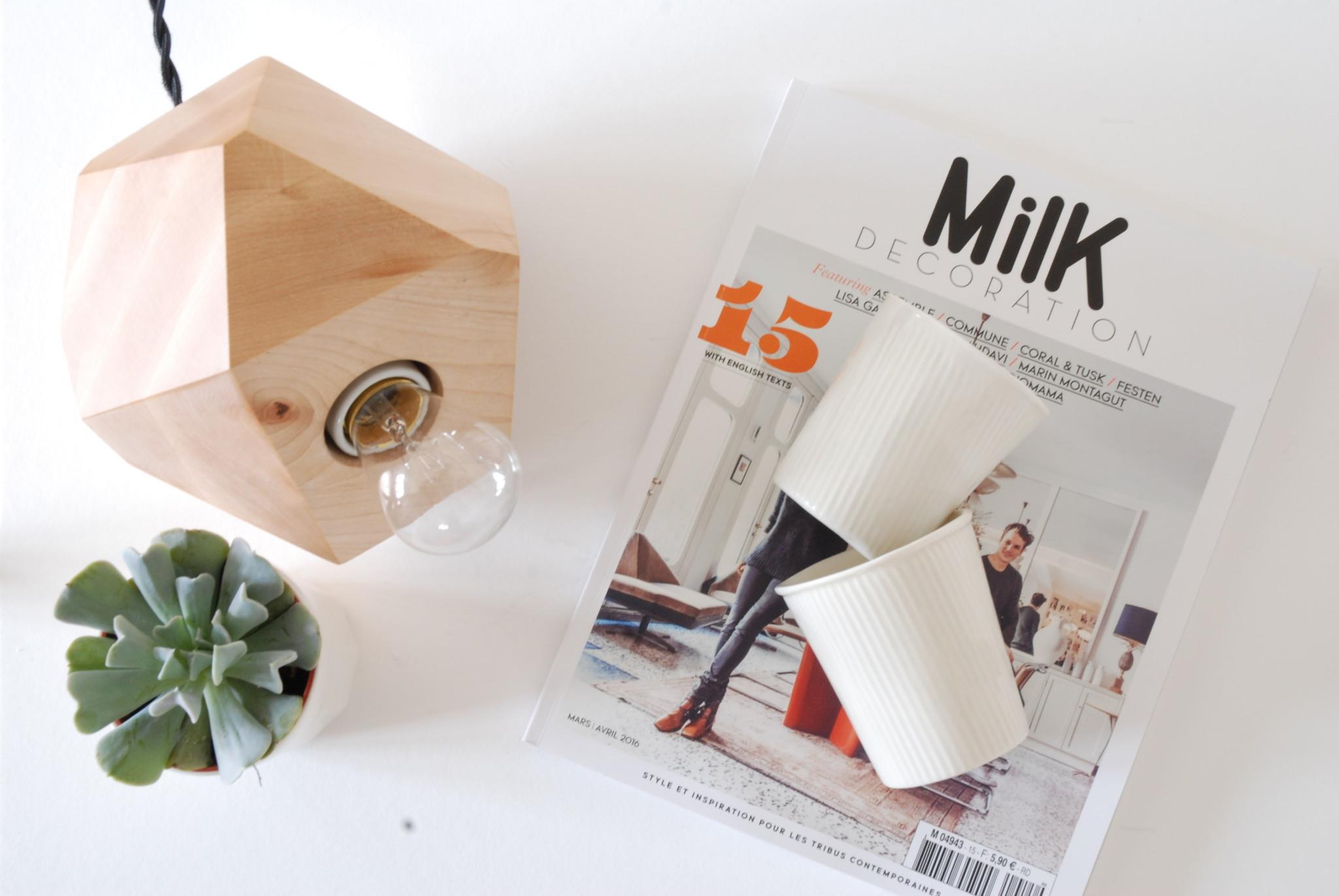 Lampe de table géométrique | Tasses )à venir)