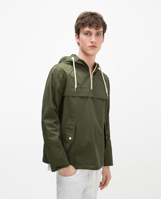 Manteau kangourou Zara 49,99$ (au lieu de 69,90$)