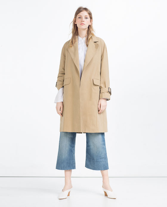 Trench long Zara 89,99$