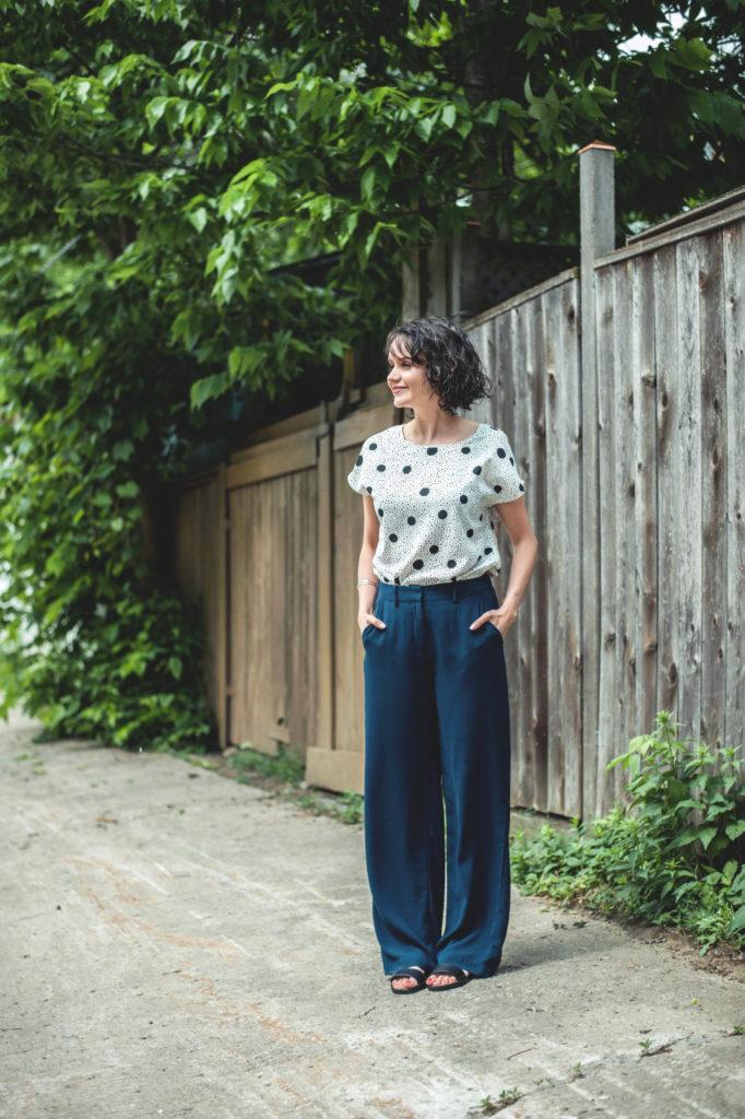 Haut et pantalon One Fashion by Vero Moda 14,98$ et 39,98$ chez Aubainerie