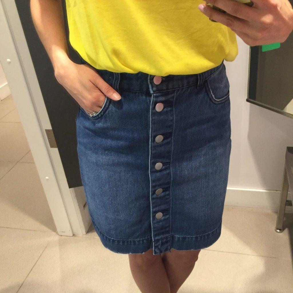 Jupe de jeans H&M 34,99$