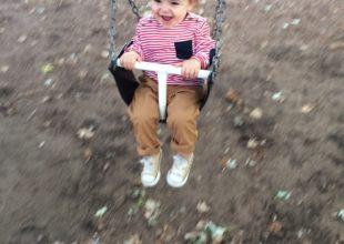 Oliver au parc