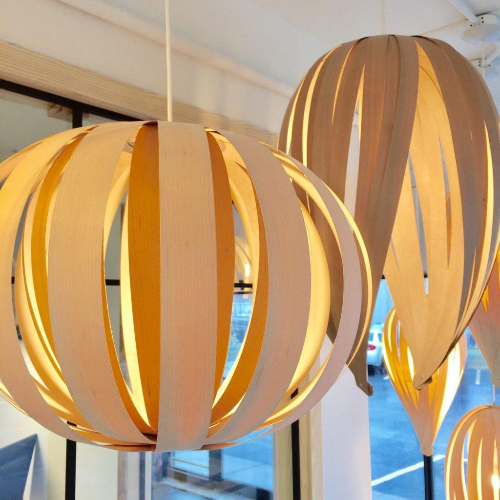 Lampes Atelier Cocotte à la Galerie du Design