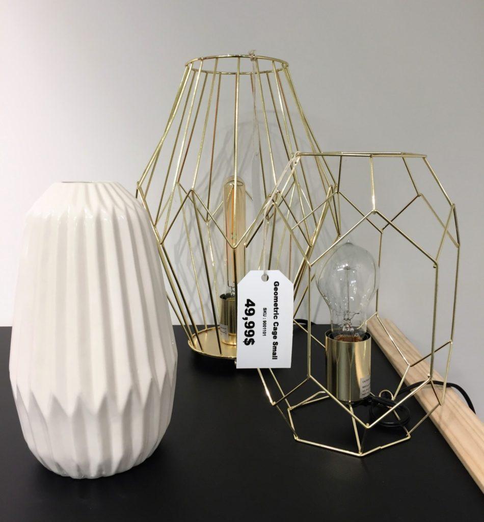 Lampes et vases à La Galerie du Design