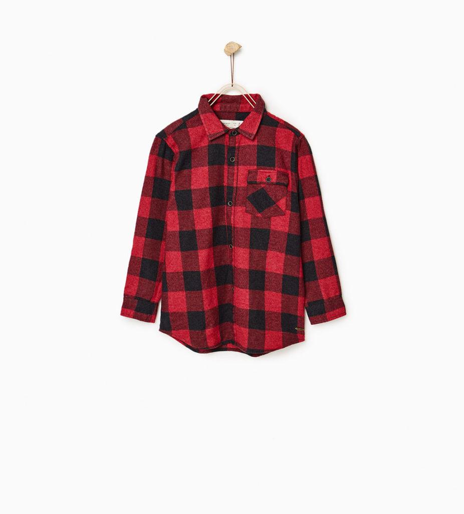Zara chemise a carreaux 29,90$