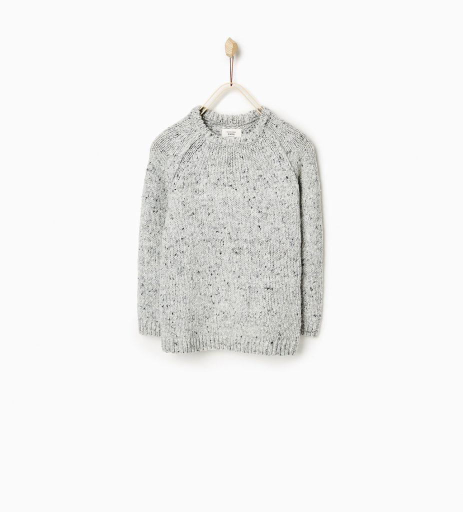 Zara tricot gris 42,90$