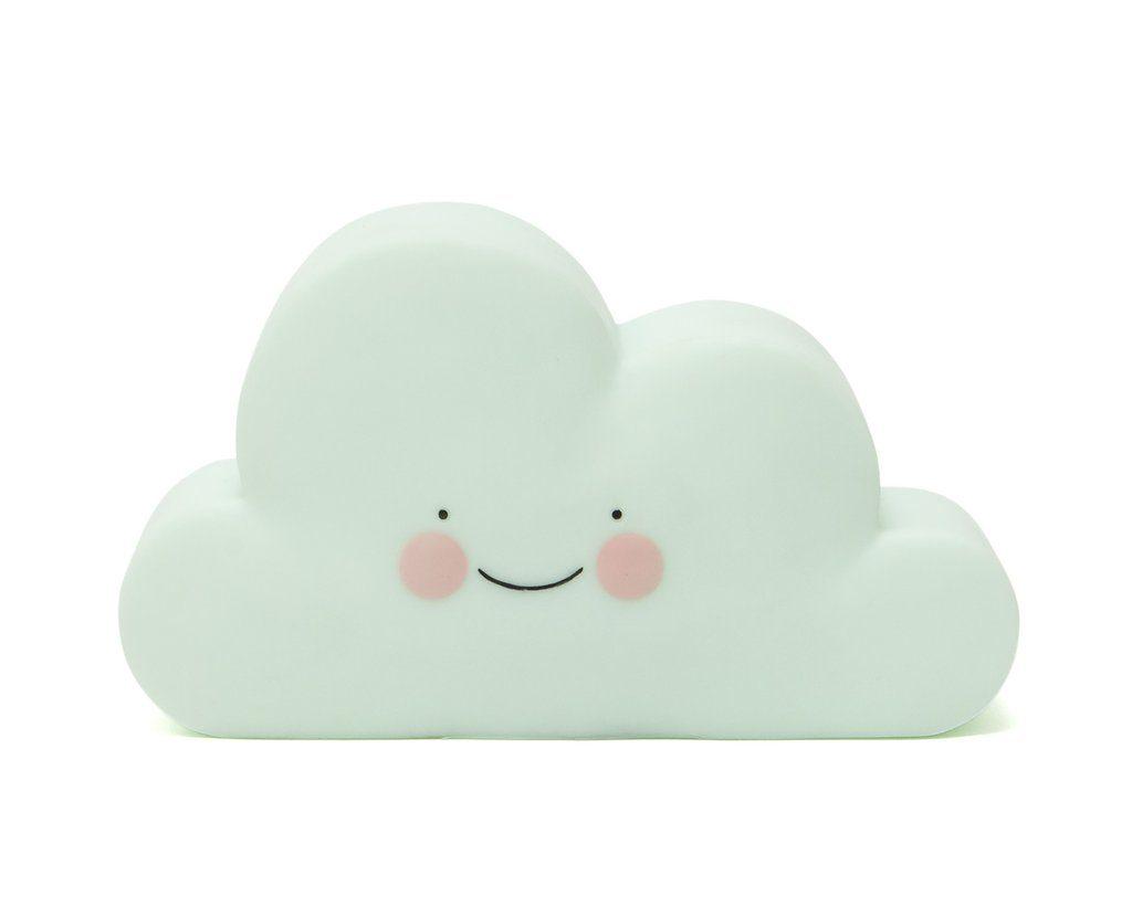 Mini lampe nuage menthe 19$ chez Lou Wolf