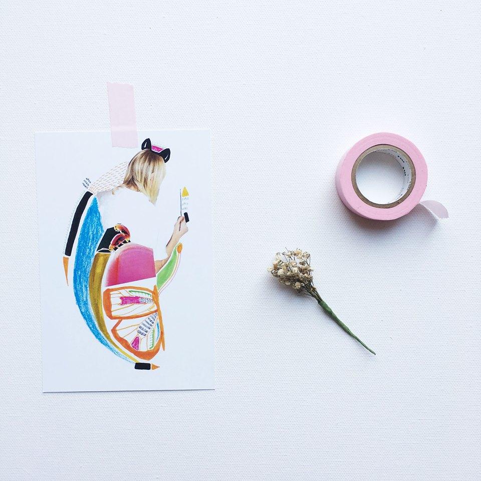 Carte postale - 7$