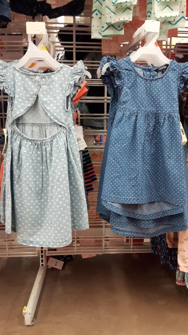 Wal-Mart robe dos ouvert