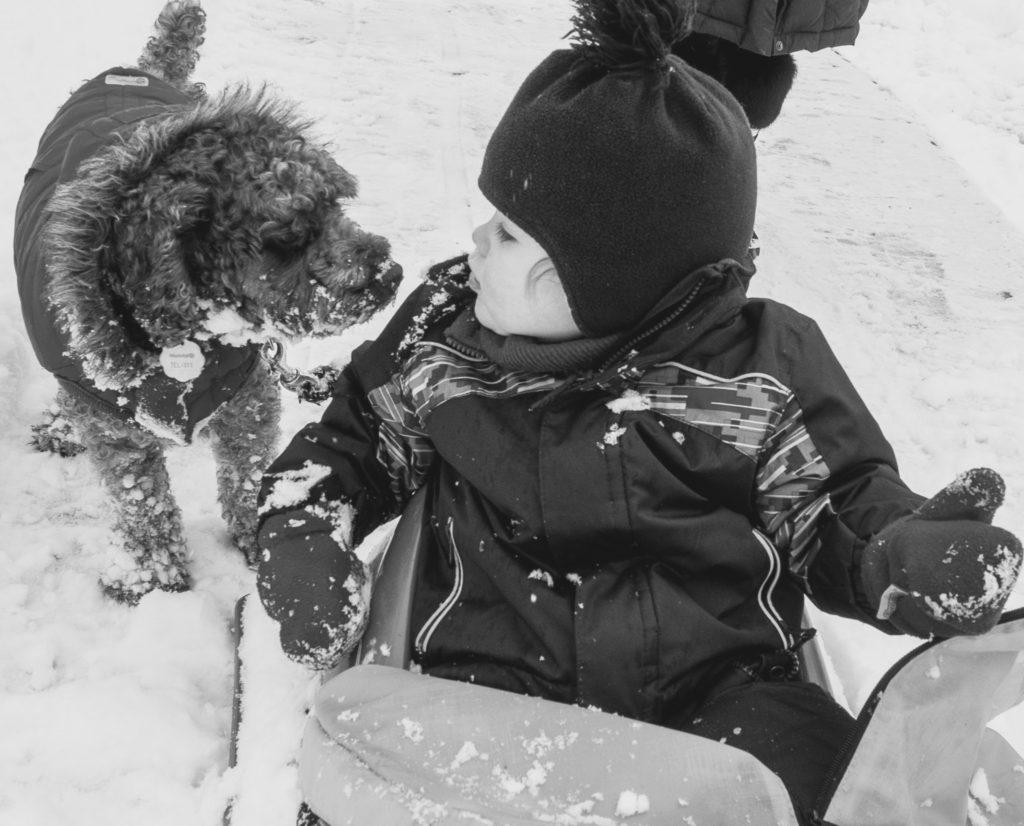 Plaisir d'hiver - Oliver 22 mois