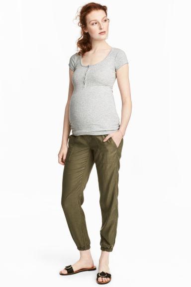 Pantalon cargo en lyocell H&M MAMA 39,99$