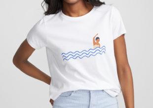 T-shirt nageuse 20$