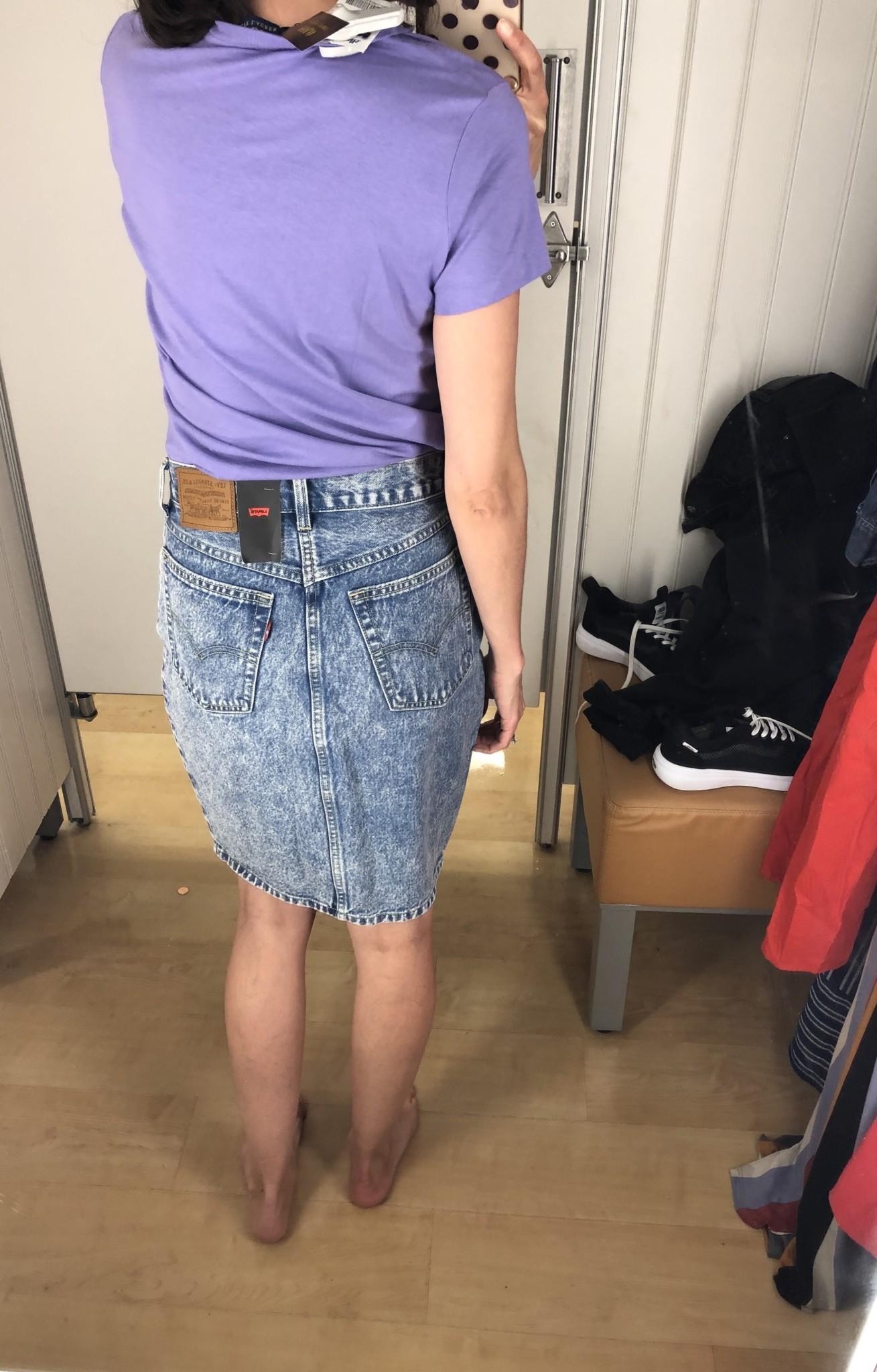 Super jupe mais une taille trop grande.